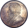 South Africa: Republic Shilling 1892 MS64 PCGS