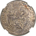 Netherlands:Holland, Netherlands: Holland. Provincial Lion Daalder 1589 MS61 NGC,...