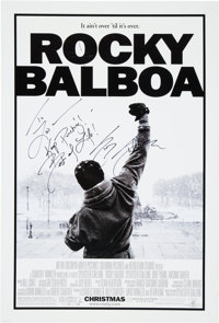 "Rocky Balboa (Columbia Pictures, 2006). Signed One Sheet Movie Poster (27"" X 40"")"