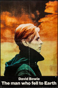 "Movie Posters:Science Fiction, The Man Who Fell to Earth (Cinema 5, 1976). One Sheet (27"" X 41""),Promotional Posters (2) (11.5"" X 16""), and Photos (2) (8""...(Total: 5 Items)"
