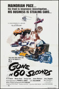 "Movie Posters:Action, Gone in 60 Seconds (New City Releasing, 1974). One Sheet (27"" X41"") and Uncut Pressbooks (2) (11"" X 17""). Action.. ... (Total: 3Items)"