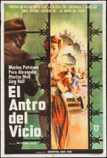 """Movie Posters:Foreign, 5 Sinners & Others Lot (Union Films, 1959). Argentinean Posters (2) (29"""" X 43"""") & Italian 2 Foglio (39"""" X 55""""). Foreign.. ... (Total: 3 Items)"""