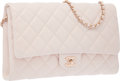 "Luxury Accessories:Bags, Chanel Pink Quilted Lambskin Leather Flap Bag with Gold Hardware. Excellent to Pristine Condition. 11"" Width x 7"" Heig..."