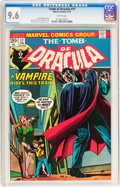 Bronze Age (1970-1979):Horror, Tomb of Dracula #17 (Marvel, 1974) CGC NM+ 9.6 White pages....