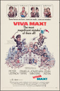 """Movie Posters:Comedy, Viva Max! (Commonwealth United, 1969). One Sheet (27"""" X 41""""), Lobby Card Set of 8 (11"""" X 14""""), and Cut Pressbooks (9) (Multi... (Total: 18 Items)"""