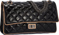 "Luxury Accessories:Bags, Chanel Black Quilted Leather Reissue Medium Double Flap Bag withGunmetal Hardware. Excellent Condition. 11"" Width x7..."