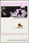 "Movie Posters:Crime, Bonnie and Clyde (Warner Brothers-Seven Arts, 1967). One Sheet (27"" X 41""). Crime.. ..."