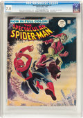 Magazines:Superhero, Spectacular Spider-Man #2 (Marvel, 1968) CGC FN/VF 7.0 Cream tooff-white pages....