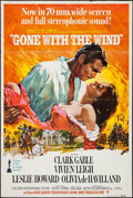 "Movie Posters:Academy Award Winners, Gone with the Wind (MGM, R-1968). Poster (40"" X 60""). Academy AwardWinners.. ..."
