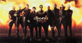 "Movie/TV Memorabilia:Posters, The Expendables (Lionsgate, 2010). Japanese Lobby Display (63"" X117.75""). ..."