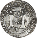 Mexico, Mexico: Charles & Johanna 4 Reales ND (1538) MM-R ExtremelyFine - Light Surface Corrosion,...