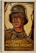 Books:Literature 1900-up, [Featured Lot]. Erich Maria Remarque. All Quiet on the WesternFront. Boston: Little, Brown and Company, 1929. ...