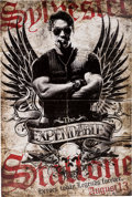 "Movie/TV Memorabilia:Posters, The Expendables (Lionsgate, 2010) Lobby Standee (48"" X 72""). ..."