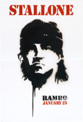 "Movie/TV Memorabilia:Posters, Rambo (Lionsgate, 2008). Advance Lobby Display (102"" X 68.75"")..."