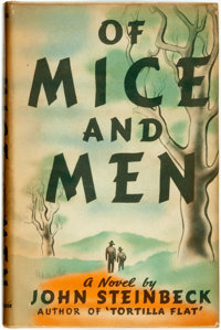 [Featured Lot]. John Steinbeck. Of Mice and Men. New York: Covici Friede, [1937]