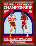 "Movie/TV Memorabilia:Props, A Prop Boxing Poster from ""Rocky Balboa"" (aka ""Rocky VI"")...."