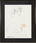 "Movie/TV Memorabilia:Original Art, A LeRoy Neiman Drawing Related to ""Rocky II.""..."