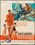 """Movie Posters:James Bond, Thunderball (United Artists, 1965). Trimmed French Affiche (22.25""""X 28.25""""). James Bond.. ..."""