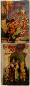 Books:Science Fiction & Fantasy, Edgar Rice Burroughs. The Warlord of Mars [and:] TheMastermind of Mars. New York: Grosset & Dunlap,... (Total:2 Items)