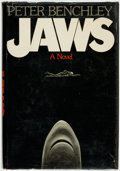Books:Horror & Supernatural, Peter Benchley. Jaws. Garden City: Doubleday & Company,1974....