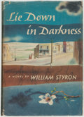 Books:Fiction, William Styron. Lie Down in Darkness. Indianapolis: TheBobbs-Merrill Company, [1951]....