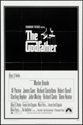 "Movie Posters:Crime, The Godfather (Paramount, 1972). One Sheet (27"" X 41"") & Mini Lobby Cards (2) (8"" X 10""). Crime.. ... (Total: 3 Items)"