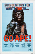 """Movie Posters:Science Fiction, Go Ape! & Others Lot (20th Century Fox, R-1974). One Sheet (27""""X 41""""), Photo (8"""" X 10""""), and Mini Lobby Cards (6) (8"""" X 10""""...(Total: 8 Items)"""