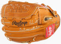 "Baseball Collectibles:Others, Nolan Ryan ""Don't Mess With Texas!"" Signed Glove...."