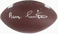 Football Collectibles:Balls, Barry Switzer Signed Football....