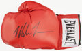 Boxing Collectibles:Autographs, Mike Tyson Signed Boxing Glove. ...