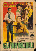 "Movie Posters:Adventure, Unconquered (Paramount, 1950). Italian 2 - Foglio (39.25"" X 55"").Adventure.. ..."