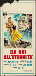 "Movie Posters:Academy Award Winners, From Here to Eternity (Columbia, 1954). Italian Locandina (13"" X27.5""). Academy Award Winners.. ..."