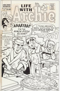 Original Comic Art:Covers, Stan Goldberg Life With Archie #282 and Jughead WithArchie Digest #179 Cover Original Art Group of 2 ... (Total: 2Original Art)