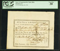 Colonial Notes:Connecticut, Connecticut Pay Table Office Certificate £13.15s.4d May 30, 1783PCGS Very Fine 30.. ...