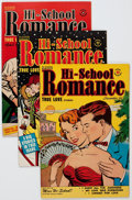 Golden Age (1938-1955):Romance, Hi-School Romance File Copies Group of 61 (Harvey, 1950-58)Condition: Average VF-.... (Total: 61 Comic Books)