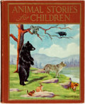 Books:Children's Books, Tailer Andrews, editor. Animal Stories for Children. NewYork: J. H. Sears & Company, [1927]....