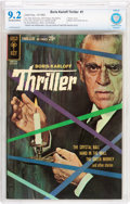 Silver Age (1956-1969):Mystery, Boris Karloff Thriller #1 (Gold Key, 1962) CBCS NM- 9.2 Off-whiteto white pages....