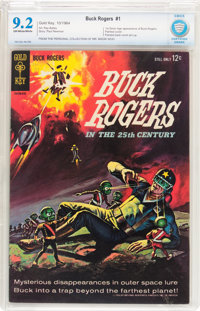 Buck Rogers #1 (Gold Key, 1964) CBCS NM- 9.2 Off-white to white pages