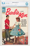 Silver Age (1956-1969):Romance, Barbie and Ken #3 (Dell, 1963) CBCS NM 9.4 Off-white to whitepages....
