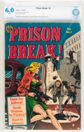 Golden Age (1938-1955):Crime, Prison Break #1 (Avon, 1951) CBCS FN 6.0 White pages....