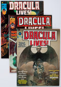 Magazines:Horror, Dracula Lives! Group of 12 (Marvel, 1973-74) Condition: Average VF/NM.... (Total: 12 Comic Books)