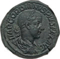 Ancients:Roman Imperial, Ancients: Gordian III (AD 238-244). AE sestertius (30mm, 20.34 gm,11h). ...