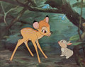 Animation Art:Poster, Bambi and Thumper Dye Transfer Print (Walt Disney, c. 1960s)....