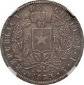 Chile, Chile: Republic 8 Reales 1839 So-IJ XF45 NGC,...