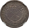 Colombia, Colombia: Republic 8 Reales 1835-RS AU58 NGC,...