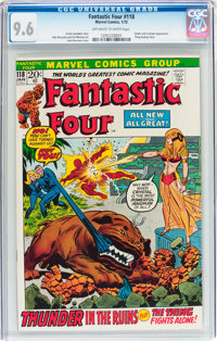 Fantastic Four #118 (Marvel, 1972) CGC NM+ 9.6 Off-white to white pages
