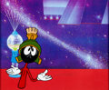 Animation Art:Production Cel, Bugs Bunny's Lunar Tunes Marvin Martian Production Cel (Warner Brothers, 1991)....