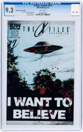 Modern Age (1980-Present):Science Fiction, The X-Files #1/The X-Files: Season 10 #1 CGC-Graded Group (ToppsComics, 1995-2013).... (Total: 2 Comic Books)