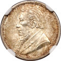 South Africa: Republic 3 Pence 1894 MS64 NGC