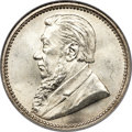 South Africa, South Africa: Republic 6 Pence 1892 MS64 NGC,...